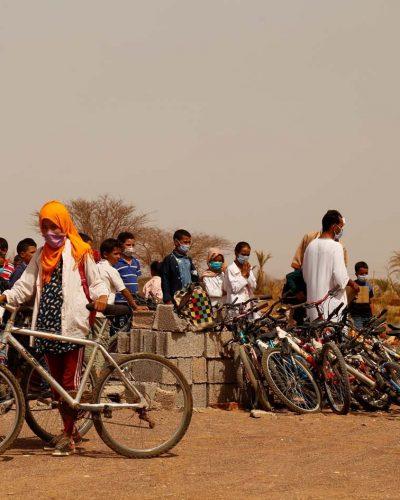 Allons à l'école à vélo...